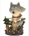 Wolf Head Fragrance Lamp / Tart Warmer