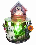 White Dog Fragrance Lamp / Tart Warmer