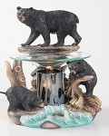 Bear on Rock Fragrance Lamp / Tart Warmer