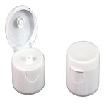 Snap Top Cap - White - 24/410 (2 - 4 - 8 - 16 oz. Bottles)