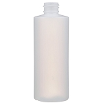 4 oz. Natural HDPE Cylinder Bottle