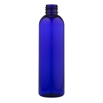 Blue PET Bullet Bottle - 8 oz.