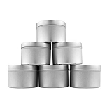 8 oz. Deep Round Tin with Lid - 12 pcs.
