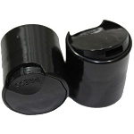 Disc Cap - Black - 24/410 (2 - 4 - 8 - 16 oz. Bottles)