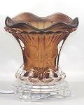 Fragrance Lamp / Tart Warmer - Brown